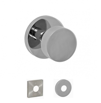 Fusion Contemporary Tubular Stainless Steel 2050 Door Knob 04