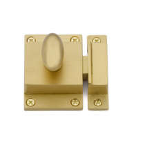 Emtek 2270 Cabinet Latch Satin Brass