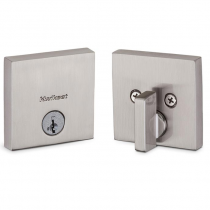Kwikset 258SQT15S Downtown Single Cylinder Deadbolt