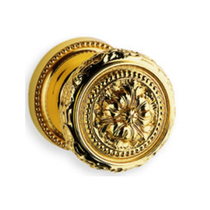 Omnia 260 Knob Latchset Polished Brass (US3)