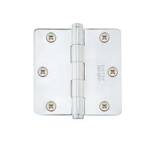 Emtek 3 1/2 Steel heavy duty radius corner hinge 92023