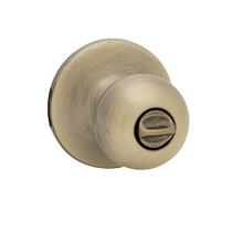 Kwikset 300P Privacy 5 Antique Brass