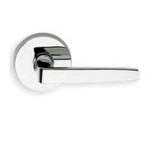Omnia 36 Lever Latchset Polished Chrome (US26)