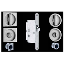 Omnia 3910, 3911 Sliding Door Lock for Pocket Doors