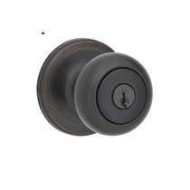 Kwikset 400CV-SMT SmartKey Entry 11P Venetian Bronze