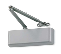 LCN 4011 Surface Mount Door Closer shown in Aluminum