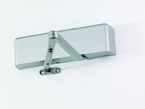LCN 4021 Surface Mount Door Closer shown in Aluminum (689)