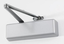 LCN 4031 Surface Mount Door Closer shown in Aluminum (689)