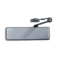 LCN 4041 Surface Mount Door Closer shown in Aluminum (689)