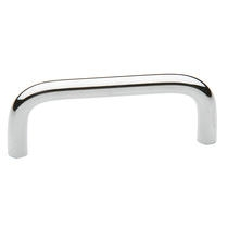 Baldwin Wire Cabinet Pull (4672, 4674, 4676) shown in Polished Chrome (260)