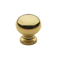 Baldwin Classic Cabinet Knob (4702, 4704, 4706) shown in Polished Brass (030)