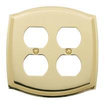 Baldwin Colonial Double Duplex Switch Plate