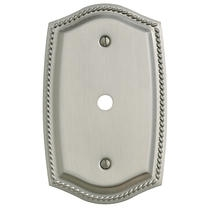Baldwin 4795 Rope Design Cable Cover Switch Plate