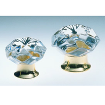 Omnia 4901 Transparent Crystal Cabinet Hardware