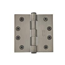 "Emtek 4"" x 4"" Solid Brass Square Corner Residential Duty Hinges 96114"