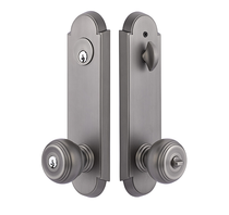 Emtek 5318 Annapolis Two Point Keyed Entry with Choice of Knob or Lever