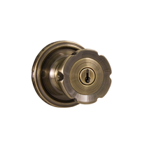 Weslock Eleganti 640E Keyed Entry Antique Brass (5)