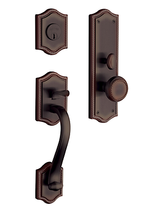 Baldwin Estate 6520 Bristol Mortise Handleset Venetian Bronze (112)