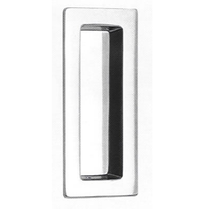 Omnia 653 Modern Flush Pull Polished Chrome (US26)