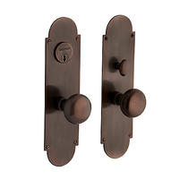 Baldwin Estate 6555 Boston Mortise Entrance Set in Venetian Bronze