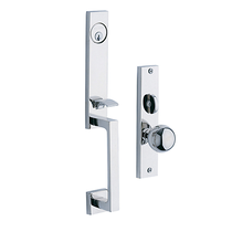 Baldwin Estate 6562 New York Mortise Handleset Polished chrome (260)