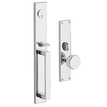 Baldwin Estate 6570 Atlanta Mortise Handleset Polished Chrome (260)