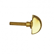 Baldwin Estate 6720 Turn Knob Lifetime Brass (003)