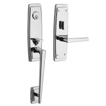 Baldwin Estate 6920.260 Palm Springs 3/4 Mortise Handleset Polished Chrome