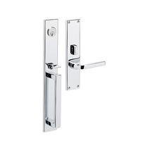Baldwin Estate 6976 Minneapolis Mortise Handleset in Polishe Chrome (260)