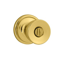 Kwikset 730A Privacy 3 Polished Brass