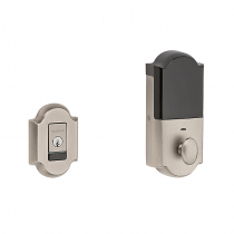 Baldwin Estate 8252.452.B Arched EVOLVED SMART Bluetooth Deadbolt