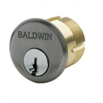 "Baldwin Estate 8325 Cylinder 1.5"" Mortise Cylinder Antique nickel"