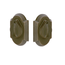 Emtek 8357 #1 Style Double Cylinder Deadbolt Medium Bronze (MB)