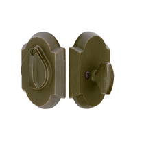 Emtek #1 Style Single Cylinder Deadbolt Medium Bronze (MB)
