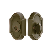 Emtek 8472 #11 Style Single Cylinder Deadbolt Medium Bronze (MB)
