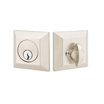 Emtek 8478 Quincy Style Single Cylinder Deadbolt in Satin Nickel