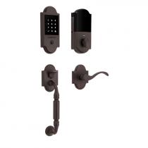 Baldwin Estate 85306.112.ZW Z-Wave Canterbury Touchscreen Keyless Handleset Venetian Bronze (112)