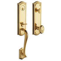 Baldwin Estate 85337 Bethpage 3/4 Handleset Lifetime Polished Brass