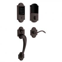 Baldwin Estate 85358.112 Boulder Touchscreen Keyless Handleset Venetian Bronze (112)