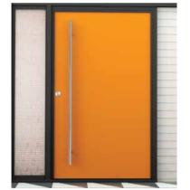"Emtek 86189 48"" Long Door Pull shown in Polished Stainless Steel"