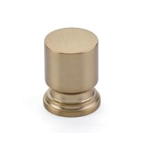 Emtek 86469, 86470 Transitional Heritage Prosser Cabinet Knob Satin Brass
