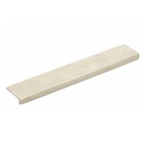 Emtek Sandcast Bronze Rustic Modern Edge Pull - 86664,86665,86666 Tumbled White Bronze