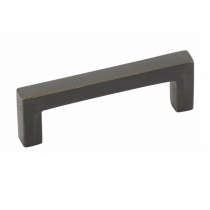 86667, 86668, 86669, 86670, 86671, 86672, 86673 Rustic Rectangular Pull - medium bronze