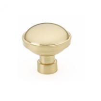 Emtek 86695 Industrial Modern Brandt Cabinet Knob Satin Brass