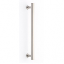 Emtek 87001, 87002 Urban Modern Freestone Appliance Pull Satin Nickel (US15)