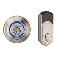 Kwikset 925 Kevo Bluetooth Electronic Deadbolt Lock Satin Nickel