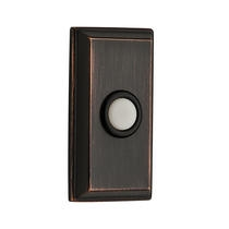 Baldwin Reserve BR7015 Rectangular Bell Button