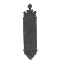 Brass Accents Renaissance Collection Gothic Push Plate