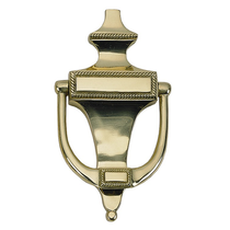 Brass Accents Rope Knocker A06-K0400 Polished Brass (605)