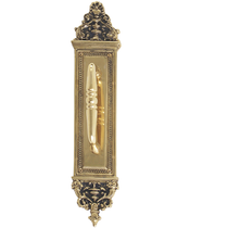 "Brass Accents Renaissance Collection Apollo Pull Plate 3-5/8"" x 18"","
